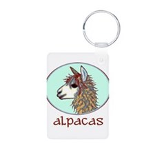 alpaca annie's Keychains