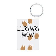 Llama Mom Keychains