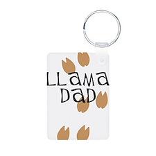 Llama Dad Keychains
