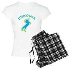 unicorns (blue-gr.) Pajamas