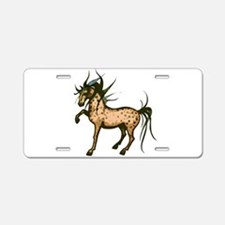 Wild and Free Horse Aluminum License Plate