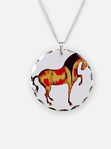 Prancing Tang Horse Necklace