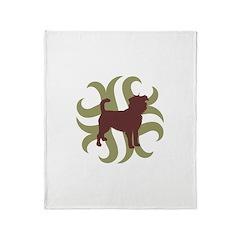 Affenpinscher Tribal Throw Blanket