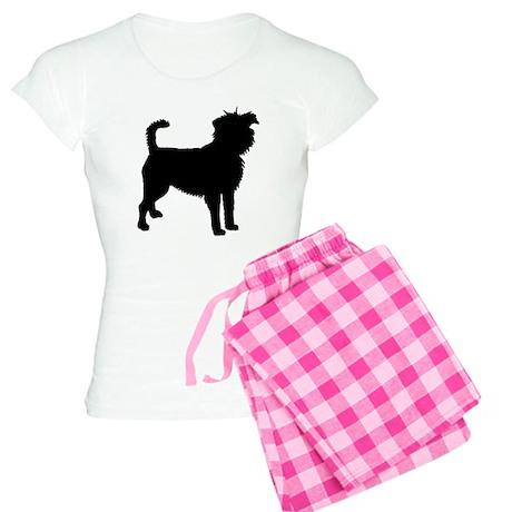 Affenpinscher Dog Women's Light Pajamas