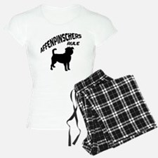 Affenpinschers Rule Pajamas