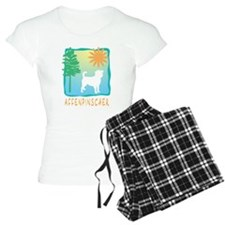 Affenpinscher, Tree & Sun Pajamas