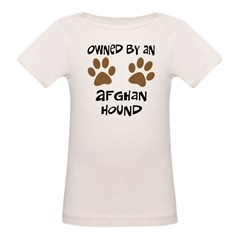 Owned By An Afghan Hound Tee