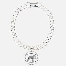 Airedale Terrier Oval #3 Bracelet