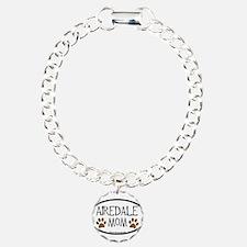 Airedale Mom Oval Bracelet