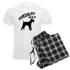 Airedales Rule Pajamas