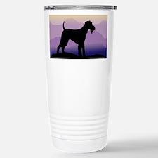 Cute Airedale terrier lover Travel Mug