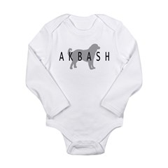 Akbash Long Sleeve Infant Bodysuit
