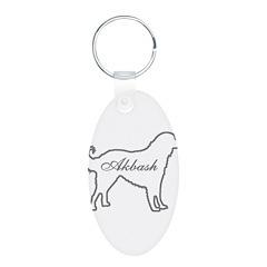 Akbash Dog Keychains