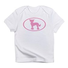 Funny Chinese crested Infant T-Shirt