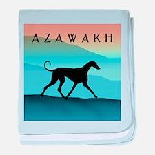Blue Mountains Azawakh baby blanket