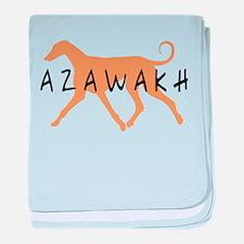 Azawakh Dog baby blanket