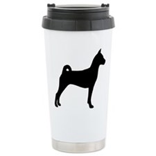 Basenji Dog Travel Mug
