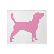 Unique Beagle design Throw Blanket