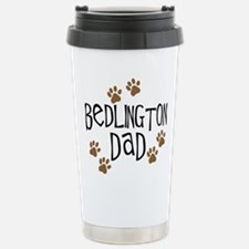 Bedlington Dad Stainless Steel Travel Mug