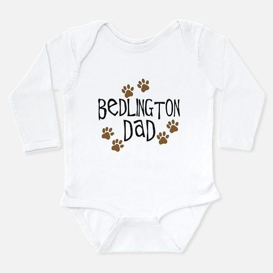 Bedlington Dad Long Sleeve Infant Bodysuit