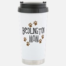 Bedlington Mom Stainless Steel Travel Mug