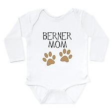 Big Paws Berner Mom Long Sleeve Infant Bodysuit
