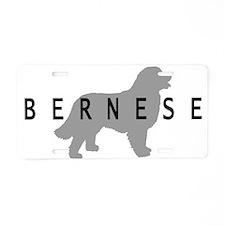 Bernese Dog Aluminum License Plate