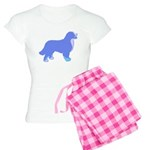 Tri Colorful Bernese Women's Light Pajamas