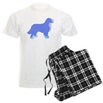 Tri Colorful Bernese Men's Light Pajamas