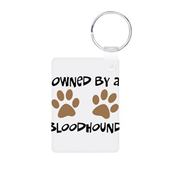 Owned By A Bloodhound Keychains