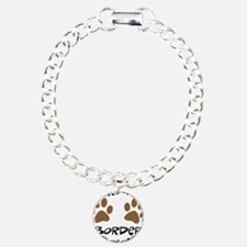 Owned By A Border Collie Charm Bracelet, One Charm