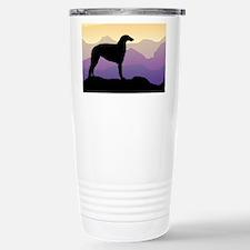 Purple Mountain Borzoi Travel Mug