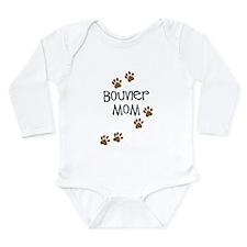 Bouvier Mom Long Sleeve Infant Bodysuit