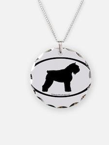 Bouvier Oval Necklace
