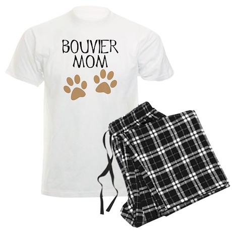 Big Paws Bouvier Mom Men's Light Pajamas