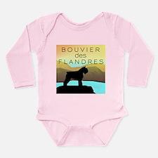 Bouvier By The Sea Long Sleeve Infant Bodysuit
