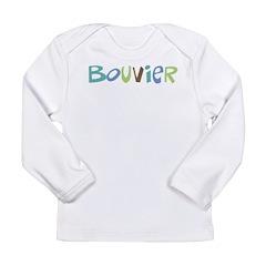 Bouvier Text Long Sleeve Infant T-Shirt