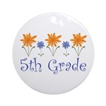 5th Grade Ornament (Round)