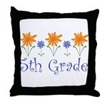 5th Grade Throw Pillow
