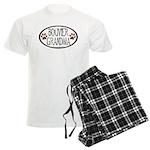 Bouvier Grandma Oval Men's Light Pajamas