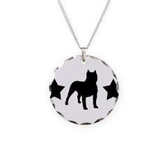 Bulldog Stars Necklace