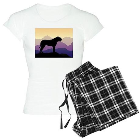 Purple Mountains Bullmastiff Women's Light Pajamas