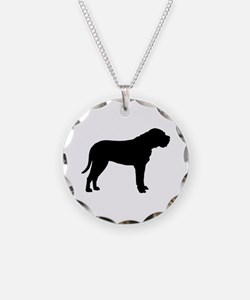 Bullmastiff Dog Breed Necklace