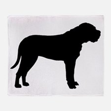 Bullmastiff Dog Breed Throw Blanket