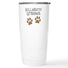Bullmastiff Grandma Travel Mug
