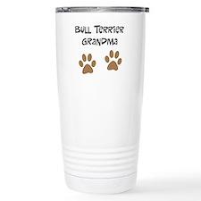 Big Paws Bull Terrier Mom Travel Mug