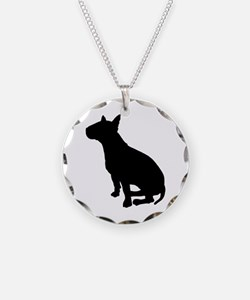 Bull Terrier Dog Breed Necklace