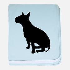 Bull Terrier Dog Breed baby blanket