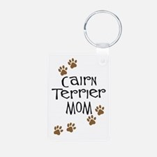 Cairn Terrier Mom Keychains
