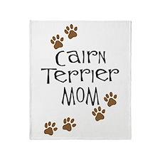 Cairn Terrier Mom Throw Blanket